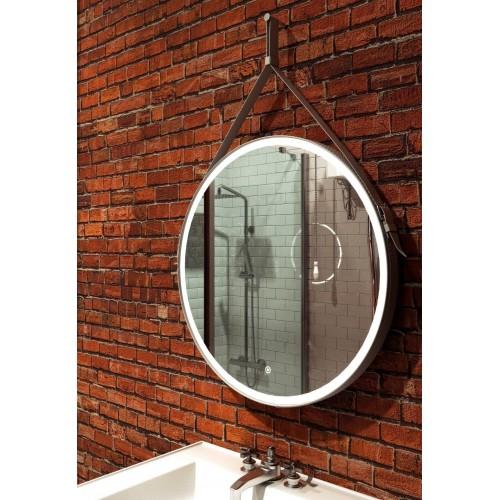 Зеркало с подсветкой для ванной комнаты Миллениум Вайт